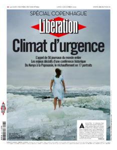 Climat d'urgence - Libération du 7 décembre 2009