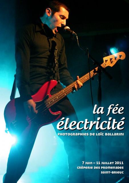 « La féé électricité », affiche de l'exposition