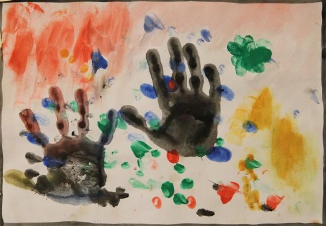 Les mains de Gaspard.