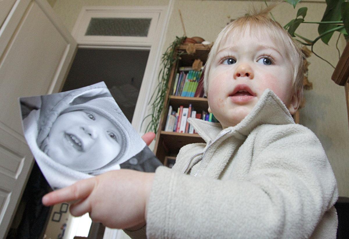 Achille et son faire-part de naissance